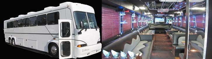 40 and 35 Passenger Limousine Party Coach