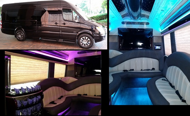 Atlanta Luxury Sprinter Party Bus