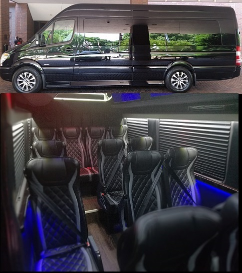 Executive Sprinter Bus Rental