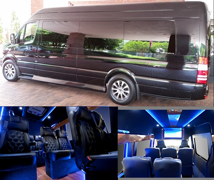 Mercedes Benz Sprinter limo Rental