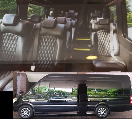 Atlanta 15 Passenger Luxury Sprinter Van Rental